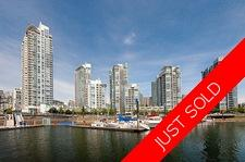 Yaletown  concrete condo hirise for sale: Marinaside Resort Residences - Tower D  1 bedroom 727 sq.ft. (Listed 2017-04-18)
