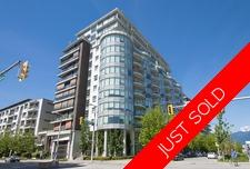 False Creek Olympic Village  Apartment for sale: The Sails 1 bedroom 864 sq.ft. (Listed 2018-08-14)