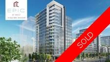 False Creek Olympic Village Apartment for sale: Epic At West  2 bedroom 967 sq.ft. (Listed 2018-08-14)